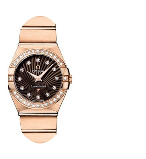 Omega Constellation Brushed 24mm Ladies ...