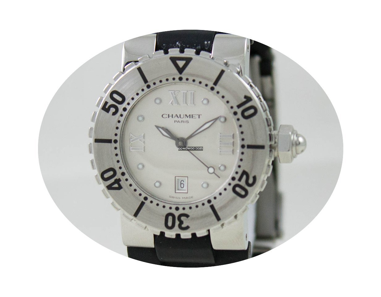 Chaumet Class One Steel Case Grey Dial...