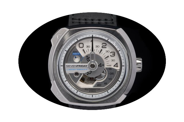 Sevenfriday V1/01 Stainless Steel With S...