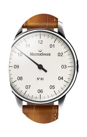 Meistersinger N 01 43mm Silver Dial - AM...