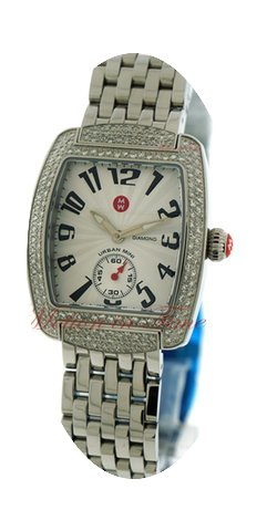 Michele Urban Mini, Silver Dial, Diamond...