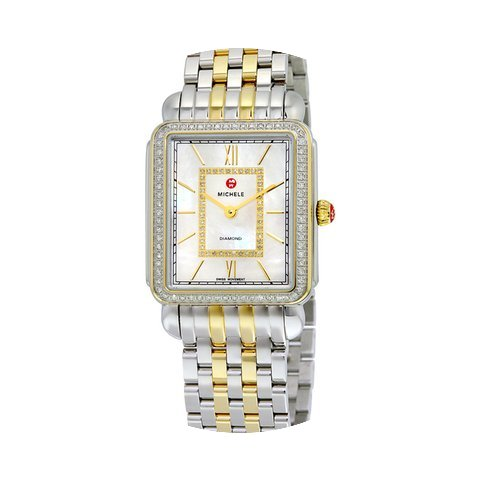 Michele Deco II Mother of Pearl Dial Two...