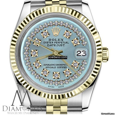 Rolex Women`s Rolex 26mm Datejust2tone I...
