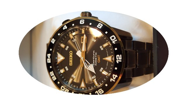 Seiko sportura kinetic gmt sun026...