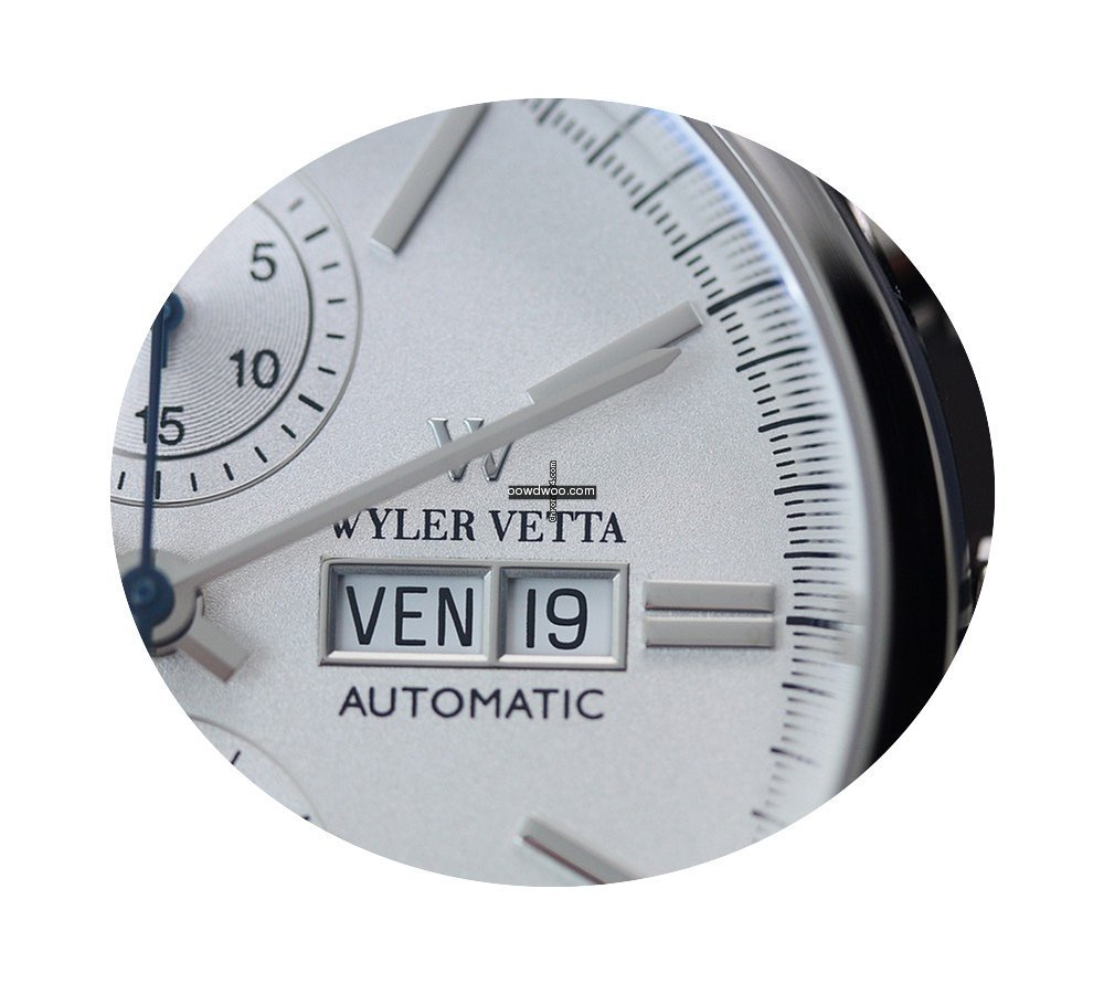 Wyler Vetta Chrono Automatic Silver 43mm...