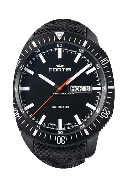 Fortis B-42 Monolith Day/Date...