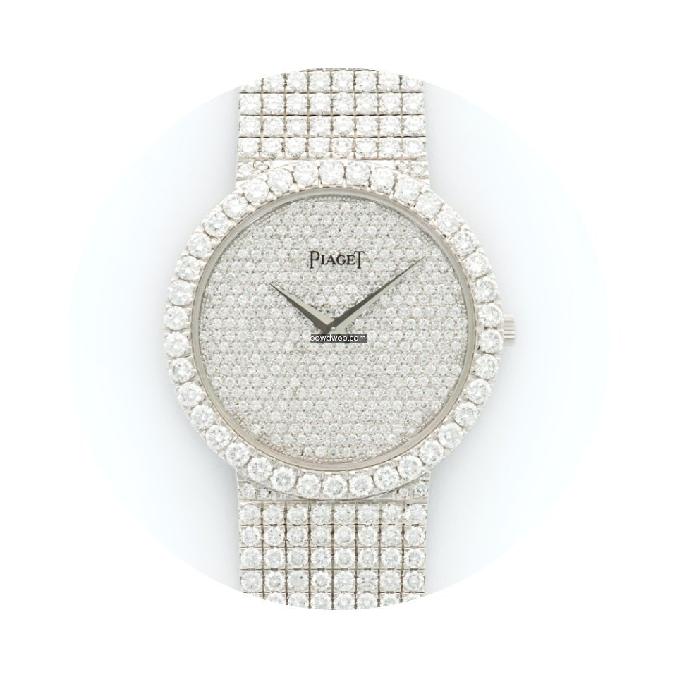 Piaget White Gold Full Diamond Bracelet ...