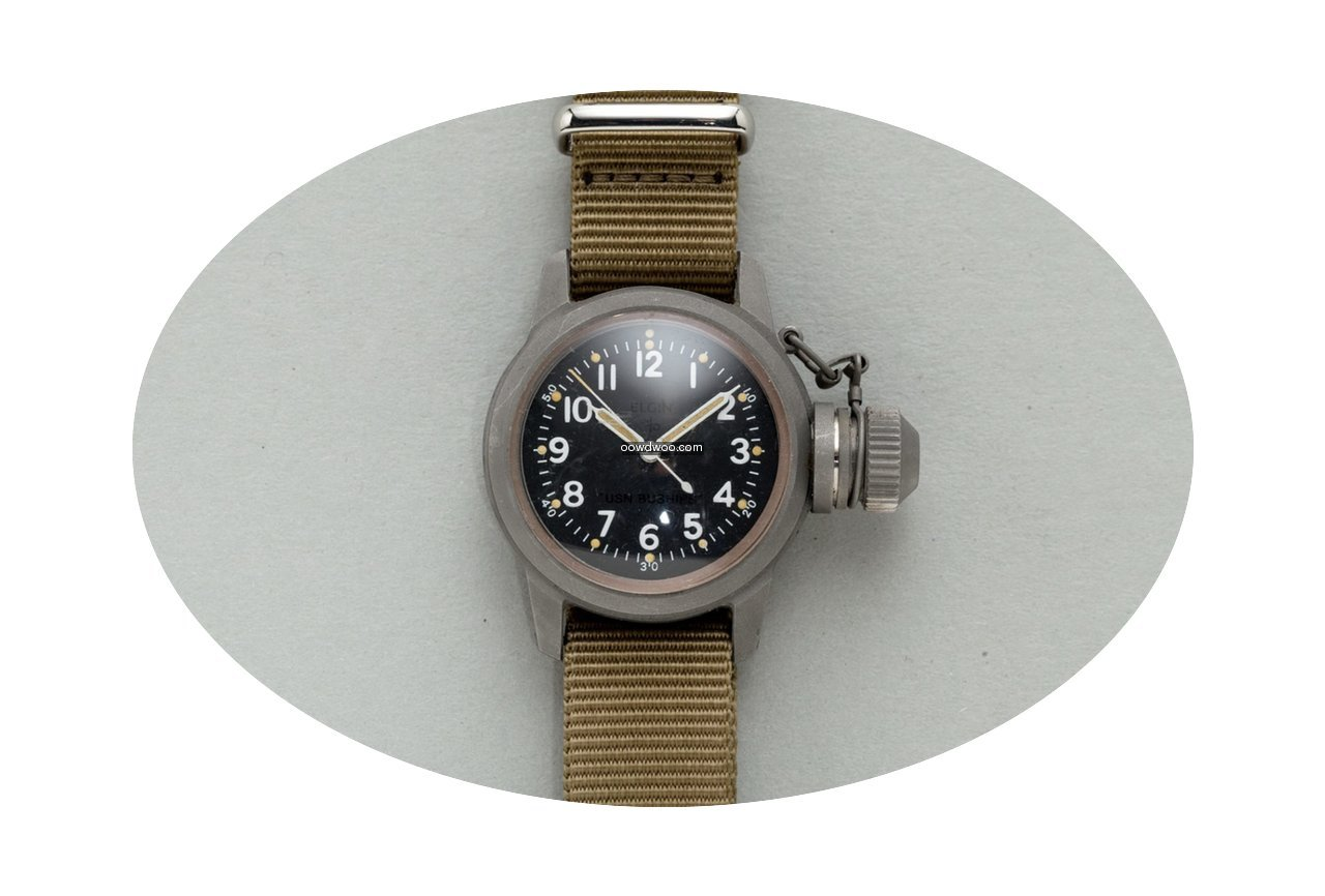 Elgin 'Canteen' Divers Watch Issued ...