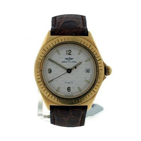 Breitling 18k Ladies Pre-owned...