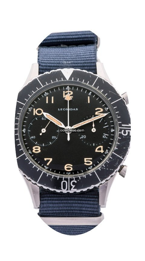 Leonidas CP-2 Military Flyback Chrono 19...