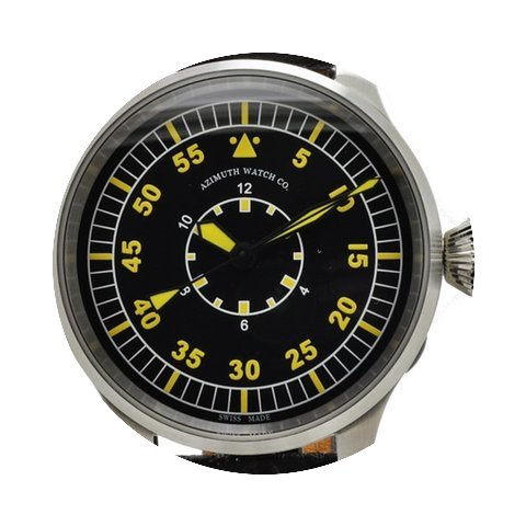 Azimuth Militare B-Uhr Inner Hour 48 mm ...