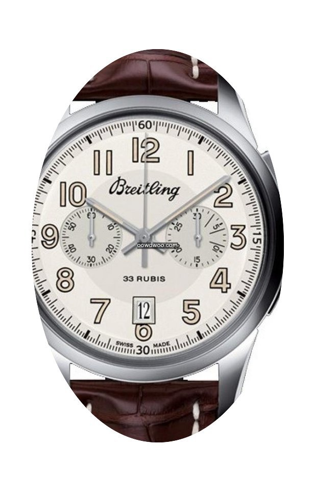 Breitling Transocean Chronograph 1915 (L...