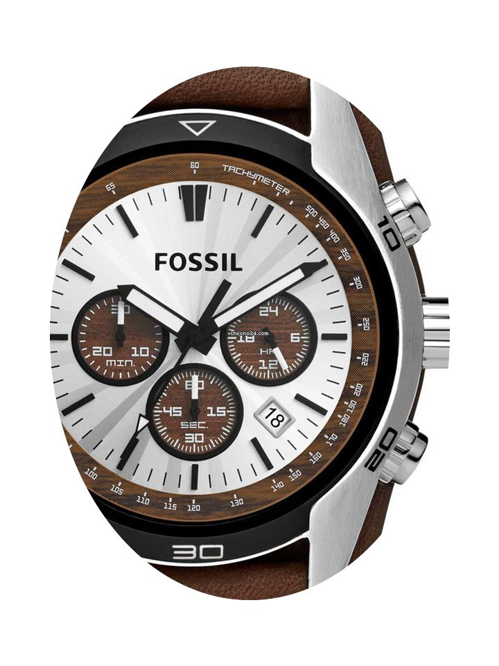 fossil ch2565 coachman herren chronograph 45mm 10atm fossil. Black Bedroom Furniture Sets. Home Design Ideas