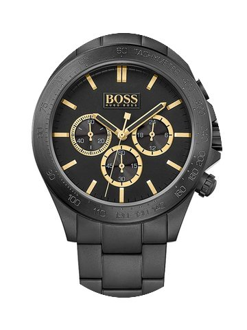 Hugo Boss 1513278 Ikon Chrono Black-Gold...