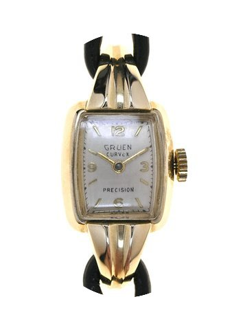 Gruen Ladies Wristwatch Curvex Precision...