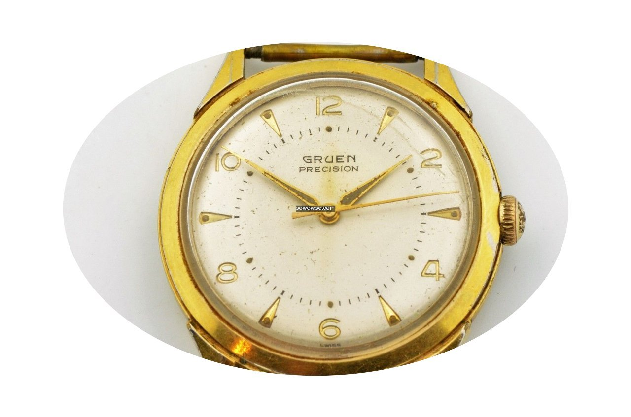 Gruen Precision Gold Plated Stainless St...
