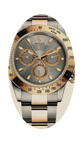 Rolex Daytona Cosmograph 40mm Steel and ...