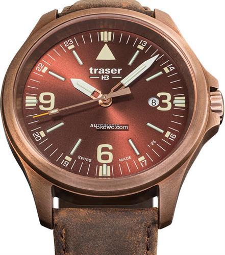 P67 Automatic Bronze Brown 108073 - Tras...
