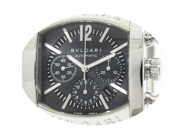 Bulgari Polished Assioma Chronograph Ste...