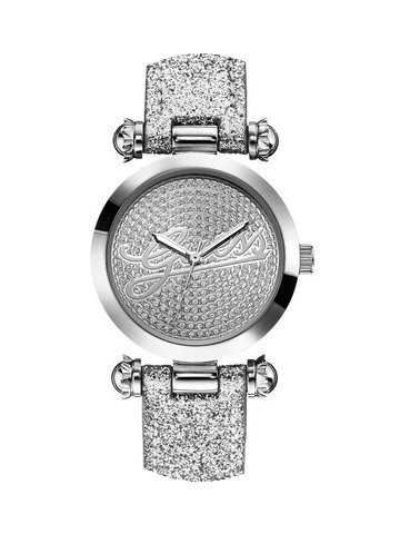 Guess W0057L1 Damenuhr mit Glitzerarmban...