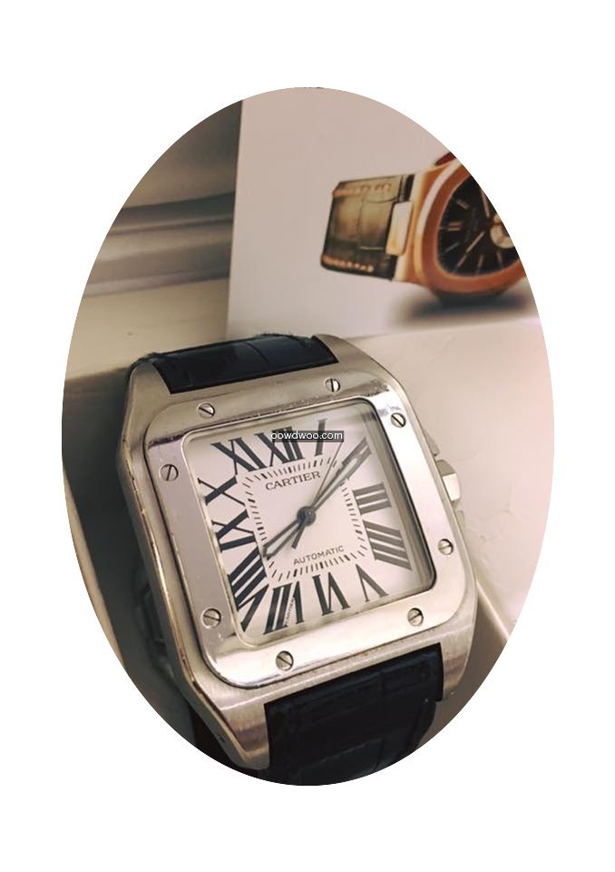 Cartier Santos 100XL Steel...