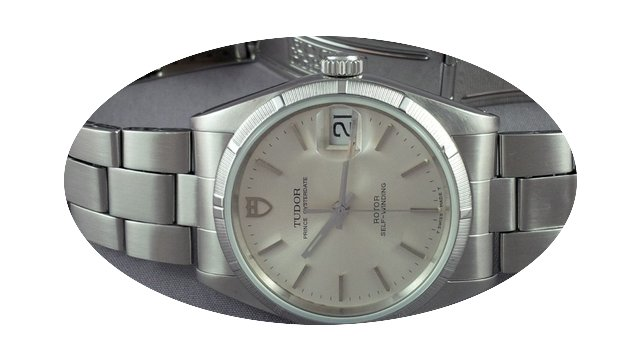 Tudor Prince Oyster Date Sapphire crysta...