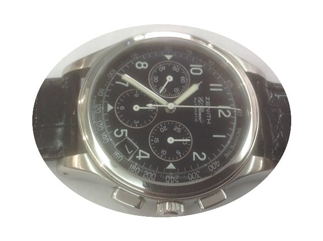 Zenith Chronograph stainless steel Ref.0...