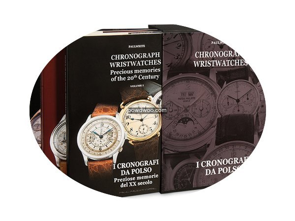 Angelus 3 Books Chronograph Wristwatches...