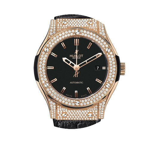 Hublot Classic Fusion 45 mm Red Gold Dia...