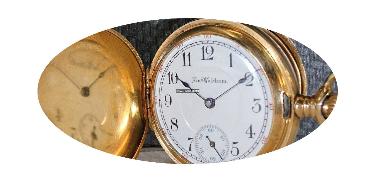 Waltham 14k Pocket watch 199038 Trade/Of...