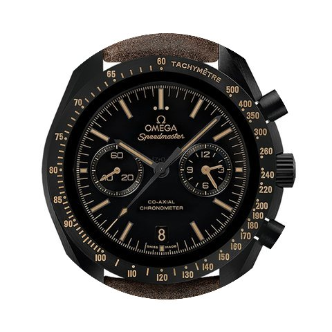 Omega Speedmaster Moonwatch Co Axial Chr...