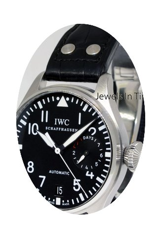 IWC Big Pilot Steel Mens 7 Day Power Res...