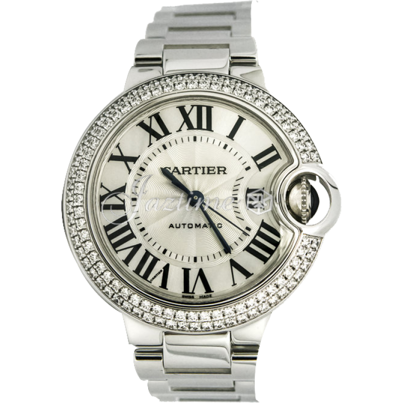 CARTIER WE902035 BALLON BLUE DE 33mm WHI...