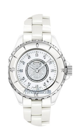 Chanel J12 Quartz 33mm Ladies Watch...