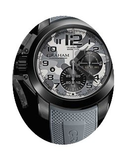 Graham Chronofighter Oversize Black Arro...