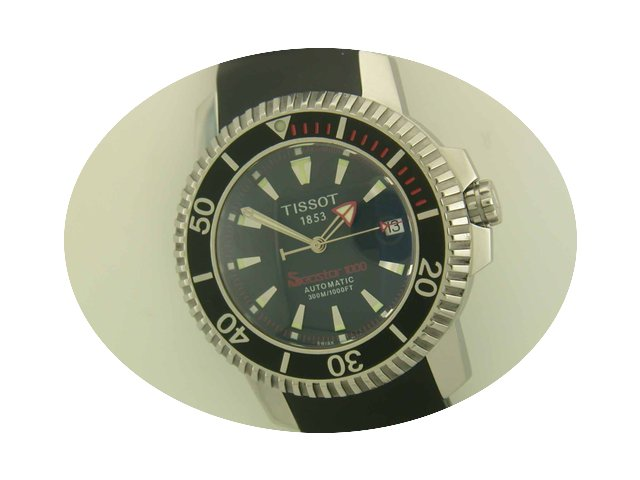 Tissot Seastar 1000 steel automatic...