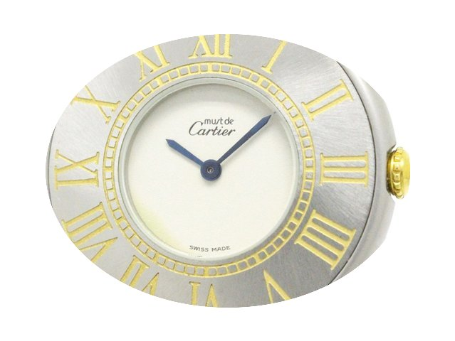Cartier Must 21 Gold Plated Steel Quartz...