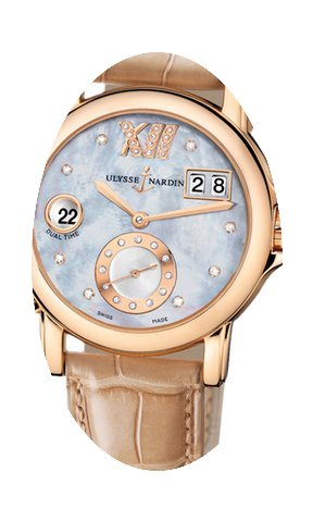 Ulysse Nardin GMT Big Date 37mm Ladies W...
