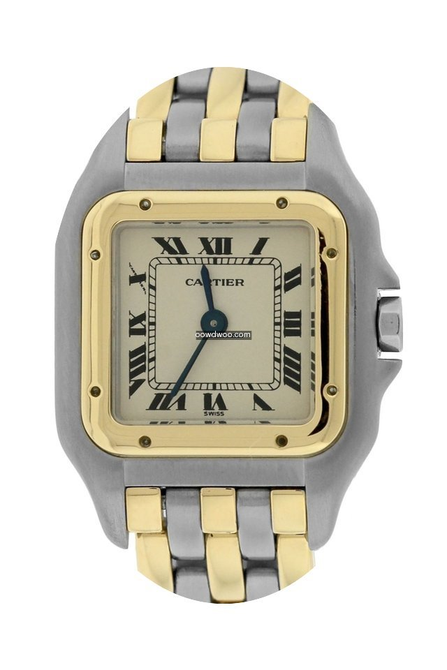 Cartier Panthere 18K Two Tone Gold Steel...