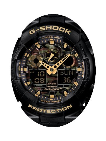 Casio G-Shock Camouflage Dual Time Chron...