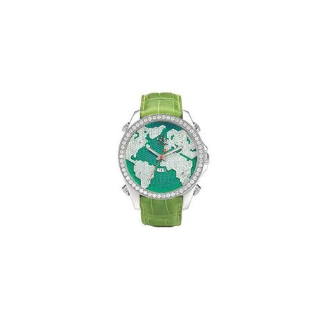 Jacob & Co. Green Stainless Steel Di...