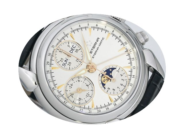 Eterna 1948 Mondphasen Chronograph Vollk...