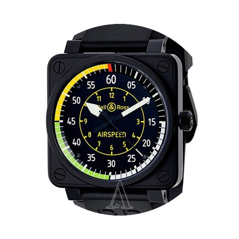 Bell & Ross Men's Aviation BR01 Flig...