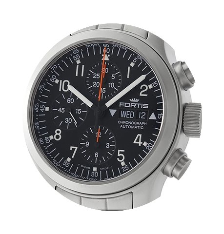Fortis B42 Day-Date Chronograph Stainles...