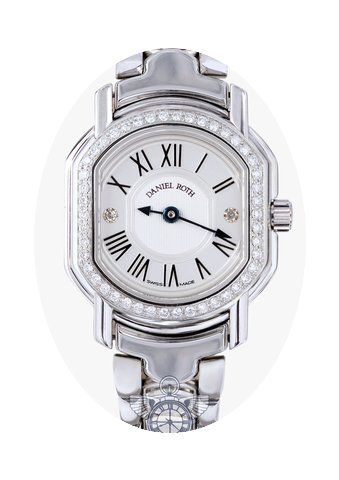 Daniel Roth Ladies Diamond Watch...