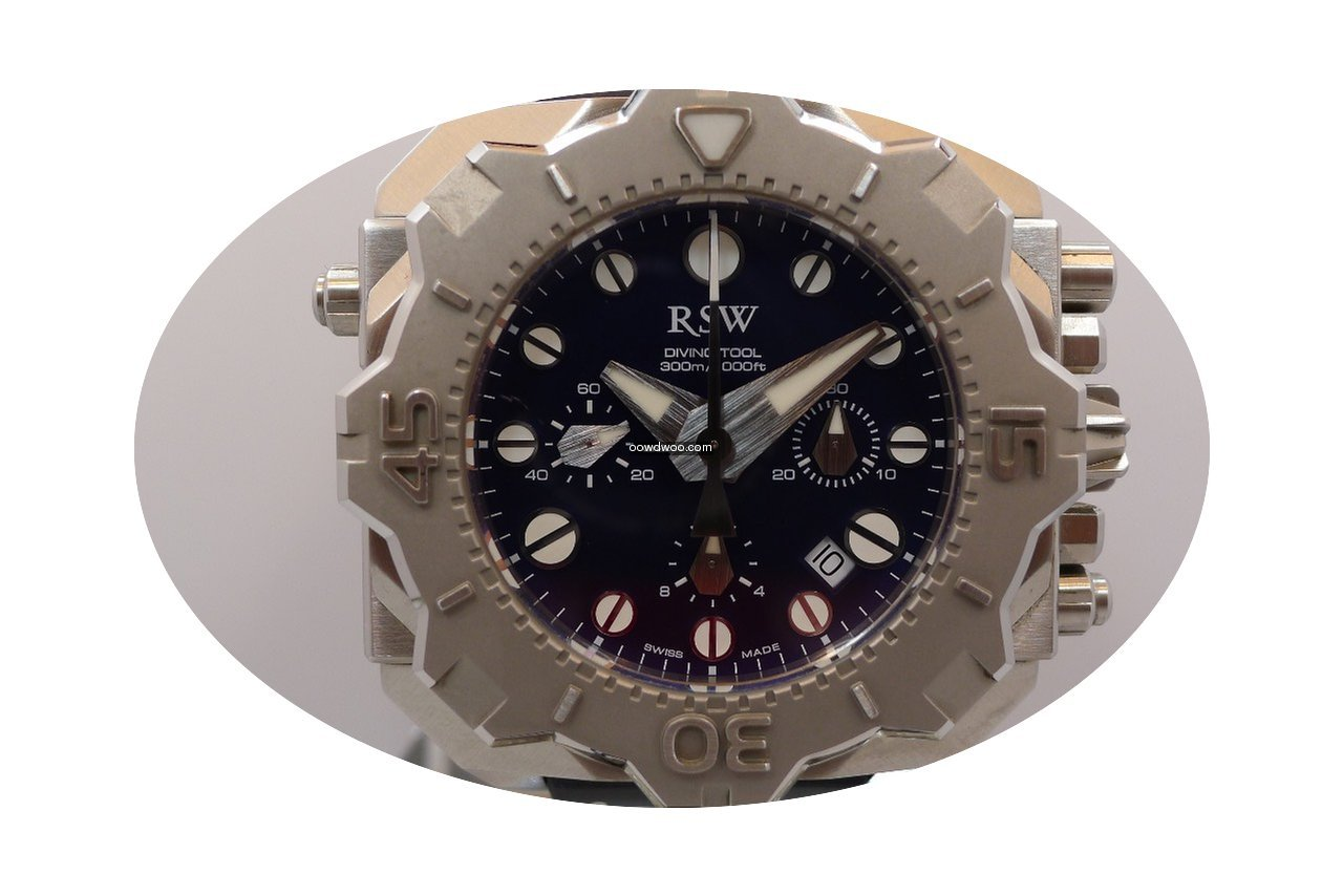 RSW diving tool chronograph...