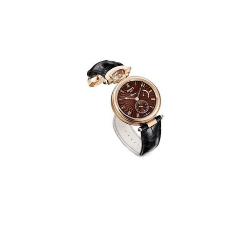 Bovet Amadeo Fleurier 18K Rose Gold Leat...