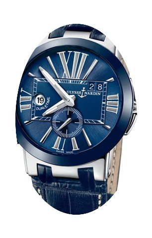 Ulysse Nardin Executive Dual Time 43mm M...