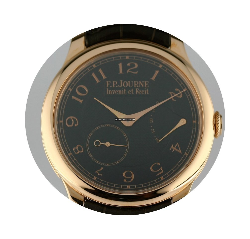 F.P.Journe Chronometre Souverain 40mm Bl...
