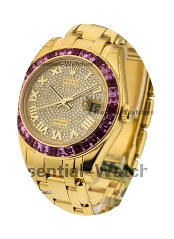 Rolex Unworn 34mm Masterpiece with Pink ...